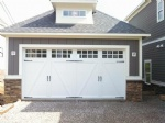 Iron garage door
